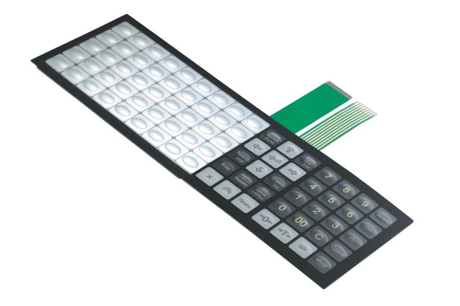 изготовление пленочной клавиатуры своими руками